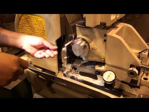 Basic one taper wire grinding