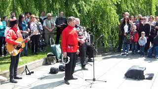 """""""Тёмная ночь"""" в Берлине, Treptow Parker , 9 мая 2015 года, 70 лет Победы!"""