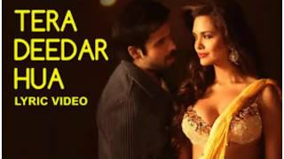 Tera Deedar Hua Lyrics - Jannat 2 | Emraan   - YouTube
