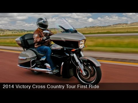 2014 Victory Cross Country Tour First Ride - MotoUSA