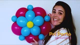 Passo a Passo: Como Fazer Flor De Balões Dois Bicos - Passo A Passo