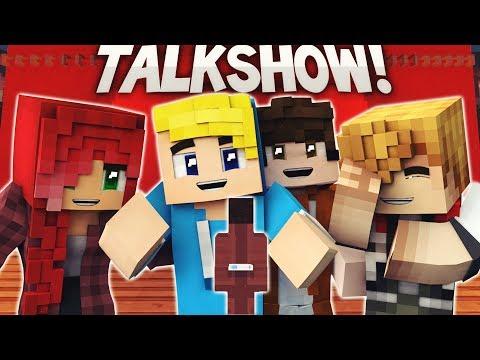 MINECRAFT TALKSHOW! - (Minecraft Roleplay ITA)