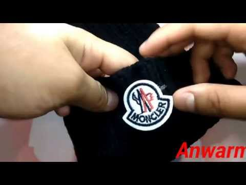 How to Spot Fake Moncler Beanie Hat
