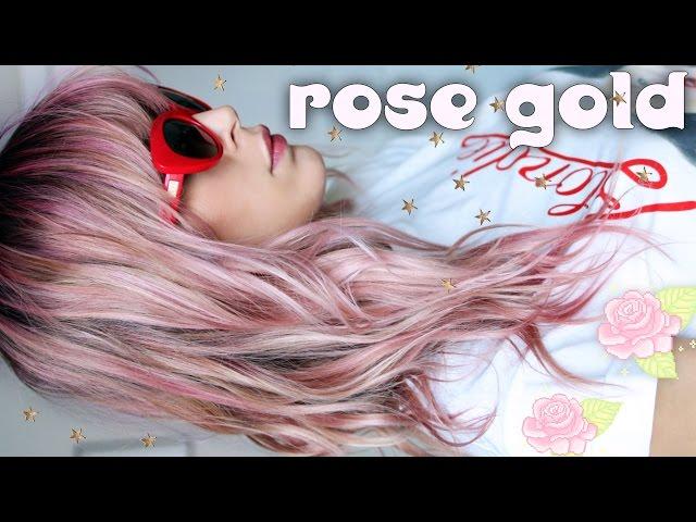 Easy Diy Rose Gold Hair How To Make Paper Rose Flower Easy Video