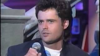 Donny Osmond - Before it's Too Late
