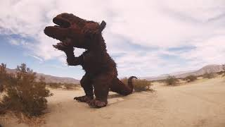 Strange Metal Creatures In The Desert Part 1 | Cinematic FPV Freestyle