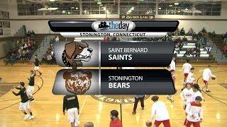 Full game: St. Bernard 74, Stonington 68