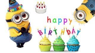 Funny Cute Minions Happy Birthday Song - Funny Minions Memes