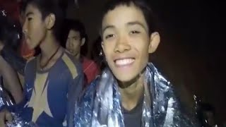 12 boys, soccer coach rescued from cave in Thailand