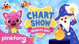 Pinkfong Chart Show: The Wizard's Gift | Pinkfong Baby Shark Chart Show | Pinkfong Show for Children