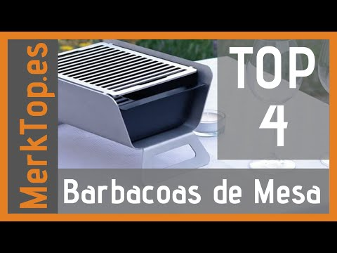 🏆 BARBACOAS DE MESA MEJORES 4 ✅ - Baratas Calidad Precio Amazon 🛒 Merktop 2021