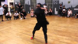 WORKSHOP LYLE BENIGA   Paris   French Montana / Ain't worried about nothin