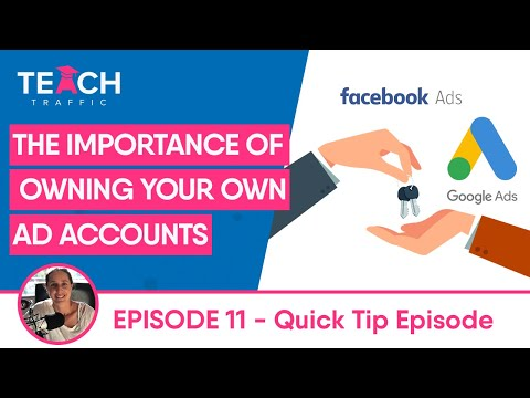 Importance Of Owning Your Own Account
