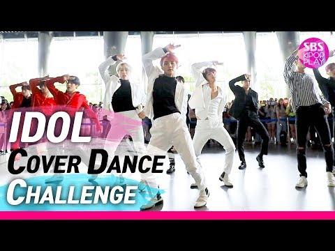 (Eng sub)[IDOL COVER DANCE CHALLENGE] 아스트로 X SF9 X 더보이즈 X CIX '아이돌 커버 댄스 챌린지'  / EXO 'LOVE SHOT'