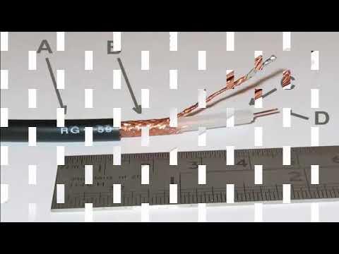 Definicion de tipos de cables de par trenzado, cable coaxial y fibra óptica.