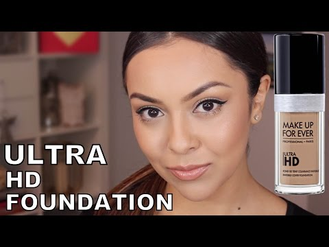 Makeup Forever Ultra HD Foundation Review - TrinaDuhra