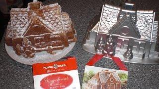 Nordic Ware Backform Gingerbread House Lebkuchenhaus