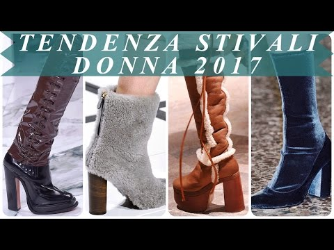 Tendenza stivali donna 2017
