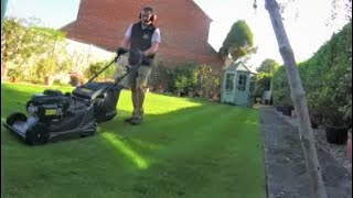 Last Lawn Mowing of the Summer