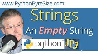 Python An Empty String