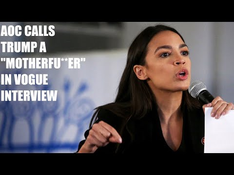 "AOC GOES OFF, Calls Trump A ""Motherfu**er"" For Not Paying His Taxes!"