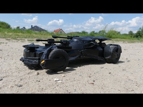 RC DC Batmobile - not bad toy for this money