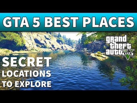 GTA 5 Best Places To Explore | 100% AWESOME SECRET LOCATIONS IN GTA 5 ONLINE (ASMR)