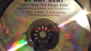 """DJ Kay Slay ft. Guests* """"Can't Stop The Reign 2006"""" (Clean Version)"""