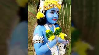 Krishna Makeup# Krishna Makeup Tutorial# How To Dress Up  Krishna# Krishna Blue