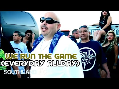 MISTER D- Everyday All Day (WE RUN THE GAME)- Ft Malow Mac, Trigger, Ese Saint, Hillside