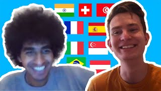 Speaking and Learning 10 Languages On Omegle
