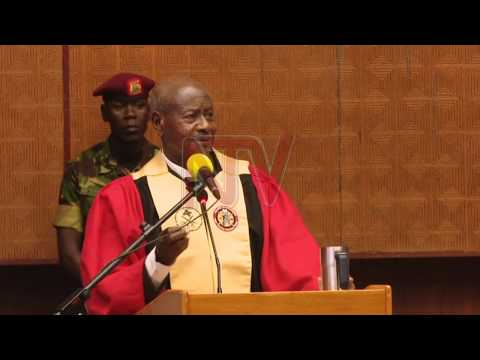 Uganda's health sector needs more professionals - President Museveni