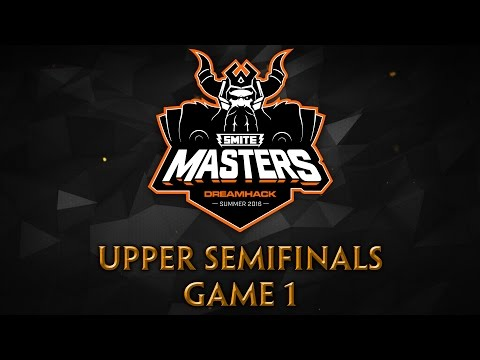 SMITE Masters Semifinals - Panthera vs. Team Eager (Game 1)
