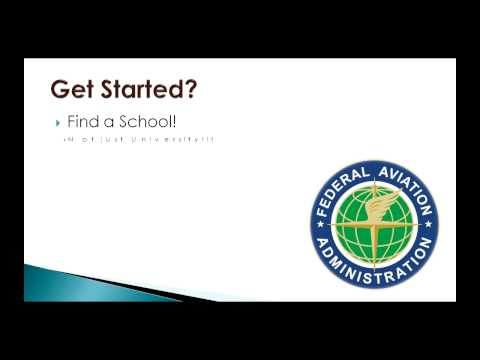 Become a Pilot - How to Get Started - Part 1