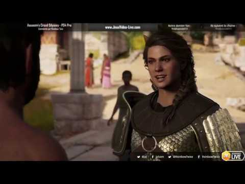 Twitch live du 27/09/18 de Assassin's Creed Odyssey