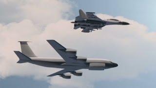 Russian jet dangerously buzzes US jet