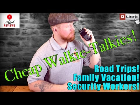 Walkie Talkie Review WITH RANGE TEST!