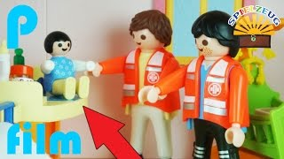FAMILIE Bergmann 4  EMMA Ist KRANK Notarzt Kommt  Playmobil Film Geschichte Deutsch