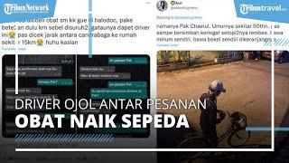 Viral Kisah Driver Ojol di Bekasi Antar Pesanan Obat Naik Sepeda, Kini Dapat Hadiah Motor