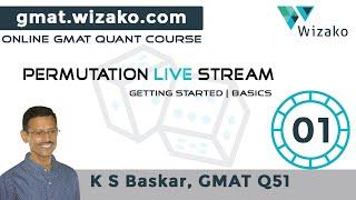 GMAT Permutation Probability Basics   Getting Started Part 1