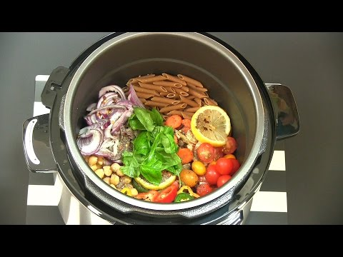 Make One-Pot Pasta That Doesn't Suck! Power Pressure Cooker Recipe   Review