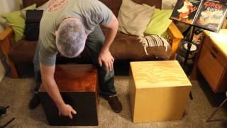 Carbon Fiber Cajon Soundboard