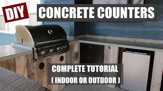 How To Make Concrete Countertops