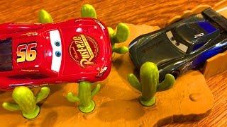 Тачки 3 Молния Маквин vs Джексон Шторм Мультики про Машинки Cars 3 Lightning McQueen