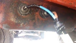 Запуск трактора т 25 зимой .   Предпусковой подогреватель двигателя для трактора т 25