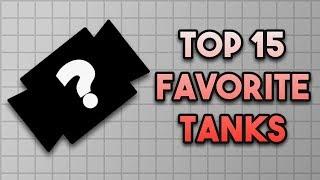 Top 15 Favorite Tanks    Diep.io
