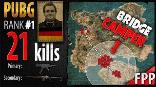 PUBG Rank 1 - Itzz_ChrizZ 21 kills [EU] Solo FPP - PLAYERUNKNOWN