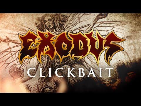 EXODUS - Clickbait (OFFICIAL LYRIC VIDEO)