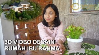 Video Desain Rumah Villa Bali 2 Lantai Ibu Rahma di  Sumedang, Jawa Barat