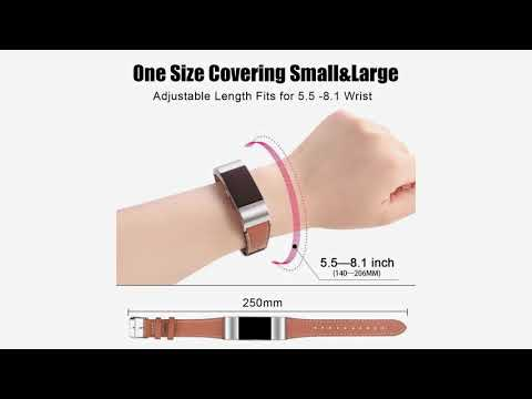 Fitbit Charge 2 Replacement Bands, Hotodeal Classic Genuine Leather Wristband review-Best